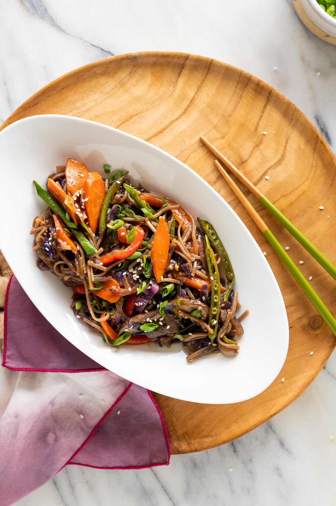 teriyaki stir fry with noodles recipe