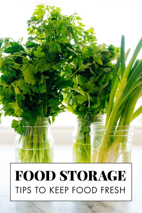 how to store food