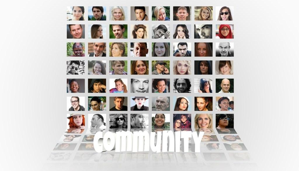 Community, Facebook, Instagram
