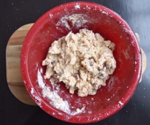 powder bun koekje uit Belize