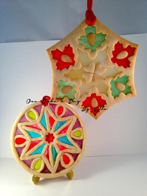 Stained Glass Cookie Ornament Cookie Connection