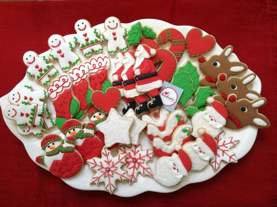 Christmas Cookie Platter | Cookie Connection