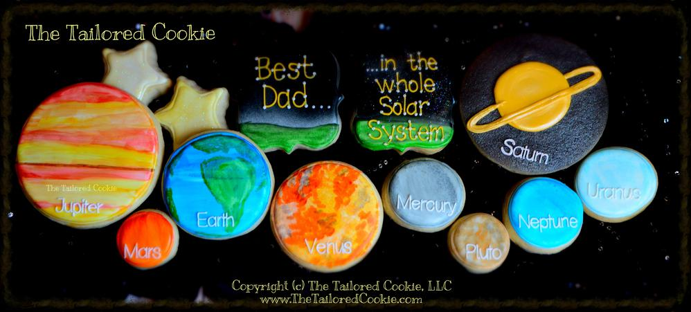 Best Dad In The Whole Solar System Cookie Connection