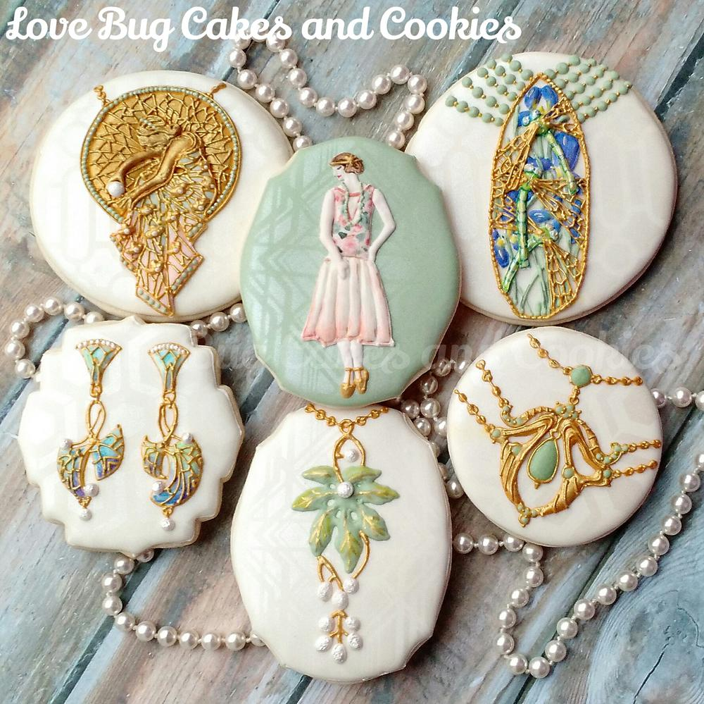1920s Art Nouveau Jewelry Cookie Connection