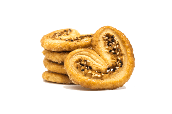 Shredded Coconut & Sesame Palmier