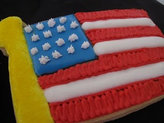 Memorial Day American Flag Cookies Cookies And Cups