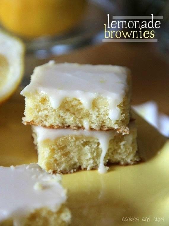 Lemonade brownies all posts browniesblondies fun sweets recipes forumfinder Gallery