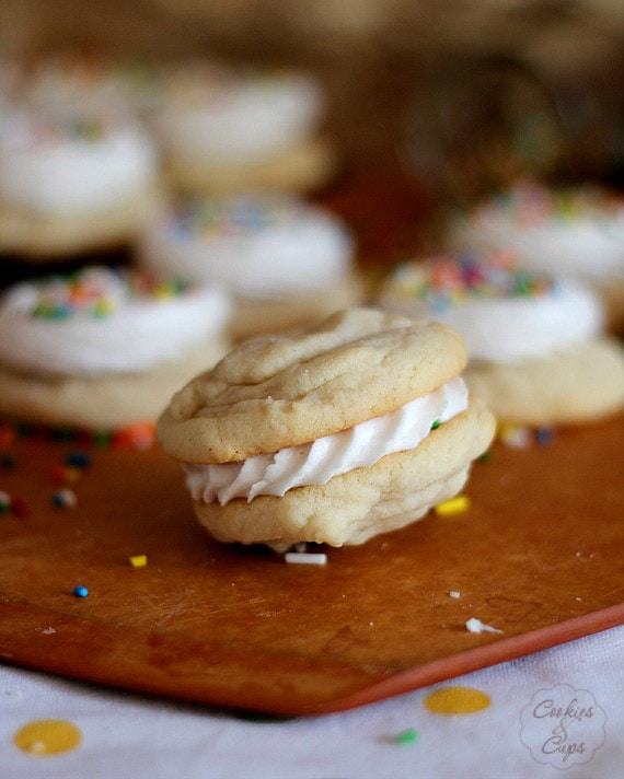 My Favorite Soft Sugar Cookies | Cookies and Cups