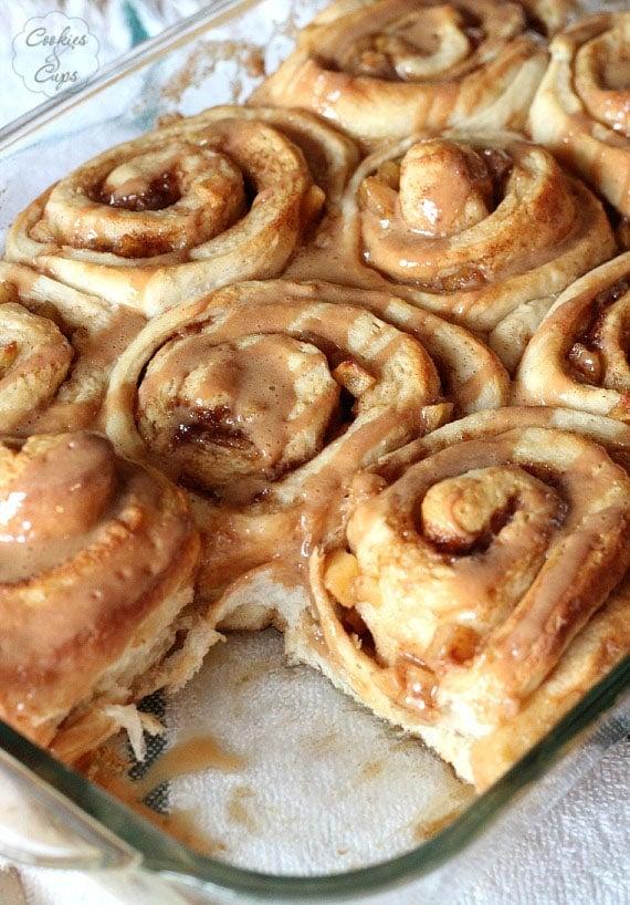 Caramel Apple Cake Mix Pillsbury Recipes