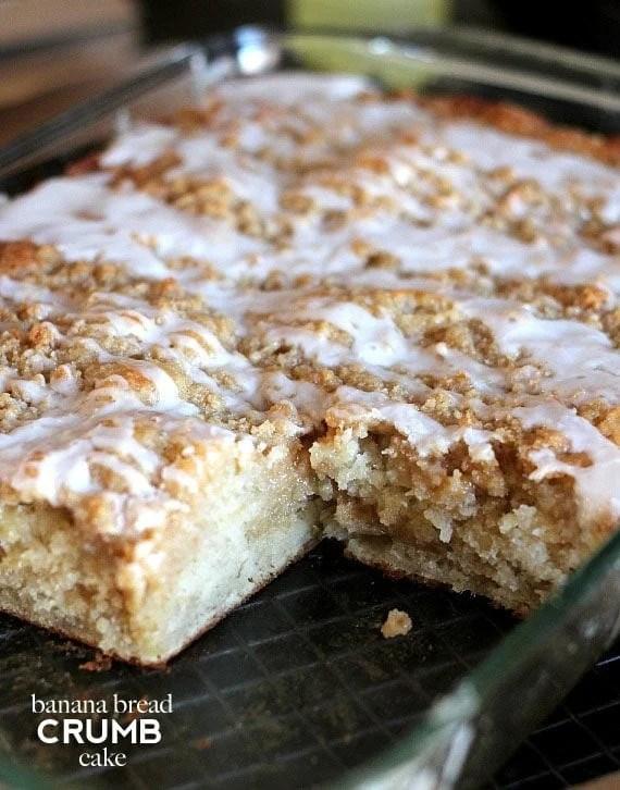 Banana Bread Cake Recipe
