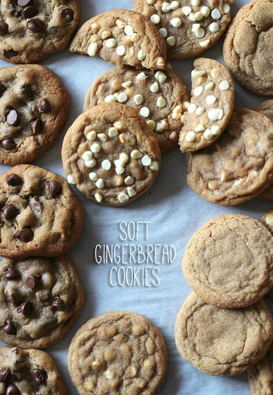 The Best Soft Gingerbread Cookies | www.cookiesandcups.com