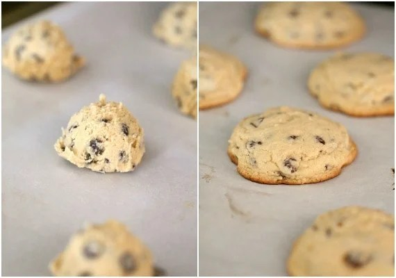 Bisquick Chocolate Chip Cookies! A total time saver and SO GOOD!