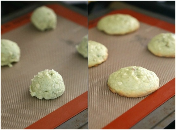 Baking Pistachio Pudding Cookies!
