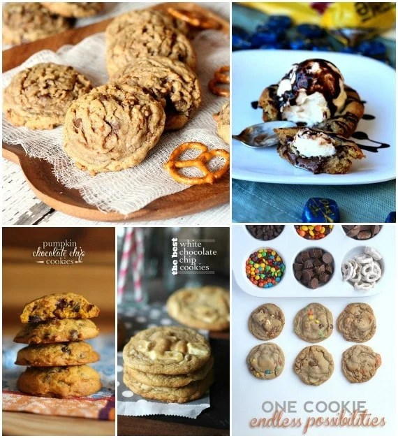 Cookies and Cups Favorite Chocolate Chip Cookie recipes!