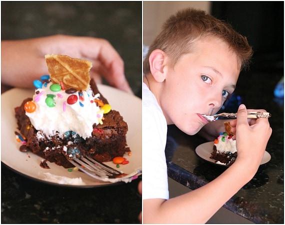 Ice Cream Sundae Brownies