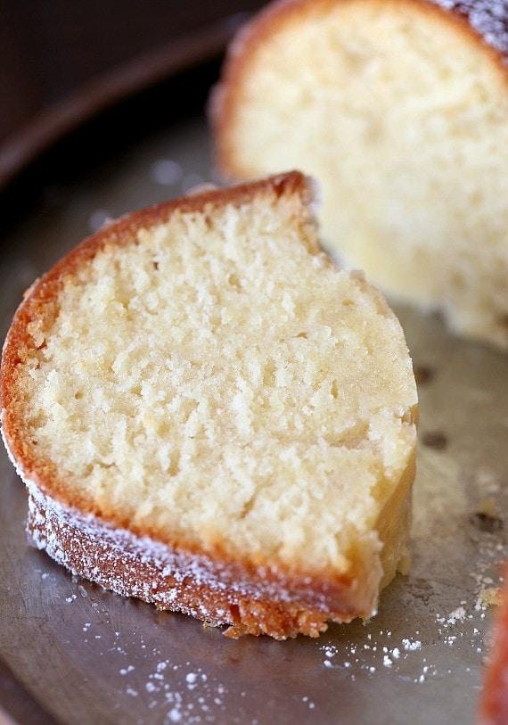Cream Marble Cake Sour Pound