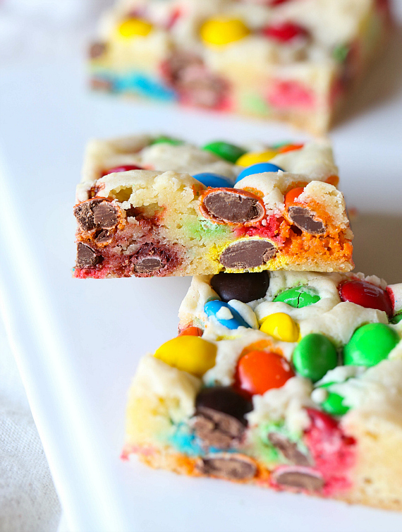 lazy cookie bars picture