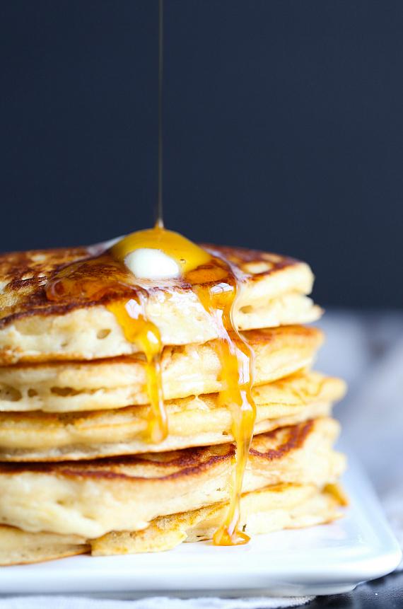 Perfect Brown Sugar Pancakes!