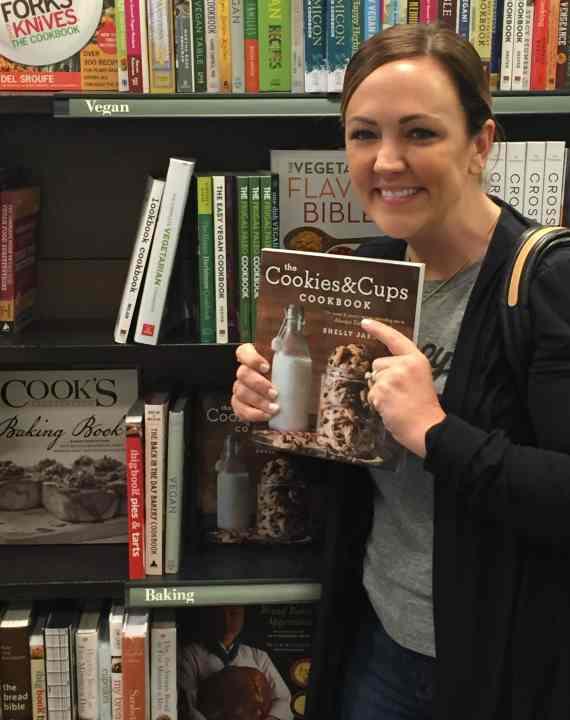 The Cookies & Cups Cookbook in Barnes & Noble!