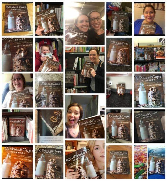 The Cookies & Cups Cookbook Selfie!