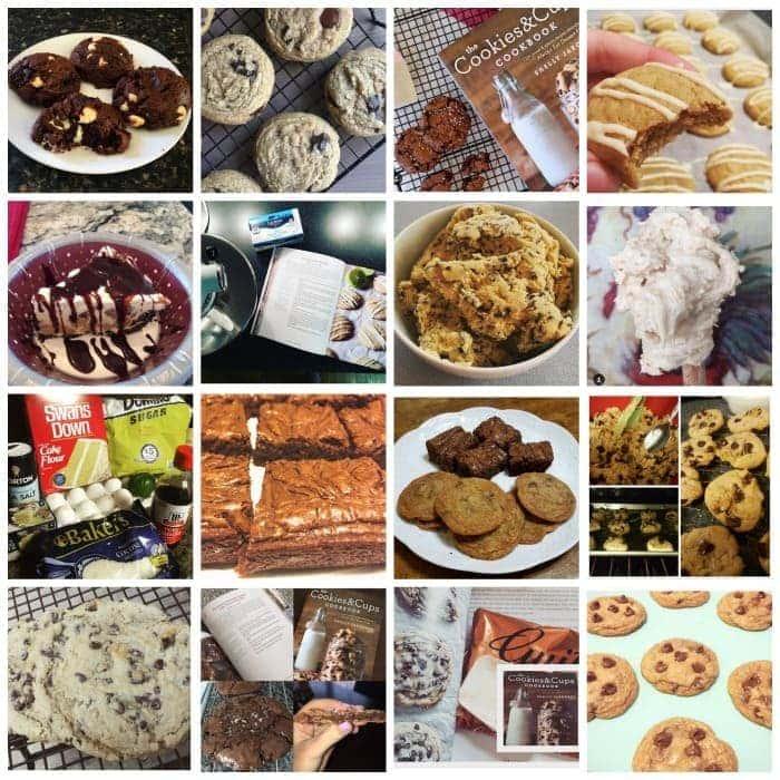 Baking from The Cookies & Cups Cookbook! #TheCookiesandCupsCookbook