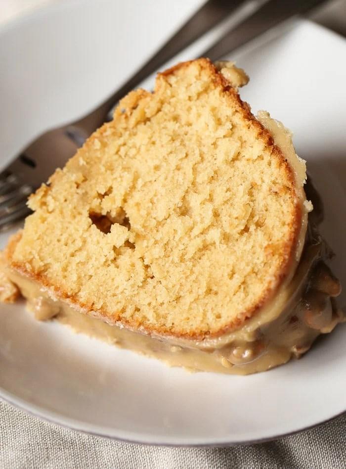 Pecan praline bundt cake recipe