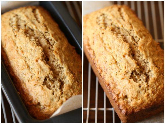 Toasted Coconut Banana Bread