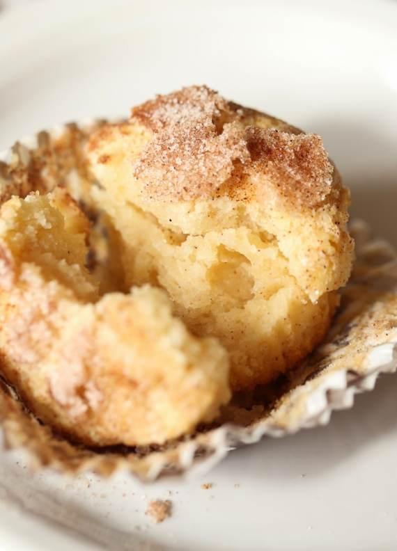 Super Soft Snickerdoodle Muffins