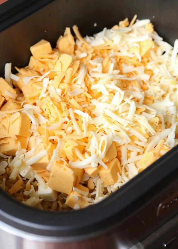 no boil crock pot mac and cheese