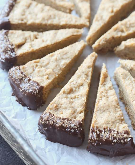 Brown Butter Shortbread - classic for a reason and this recipe is my FAVORITE!!