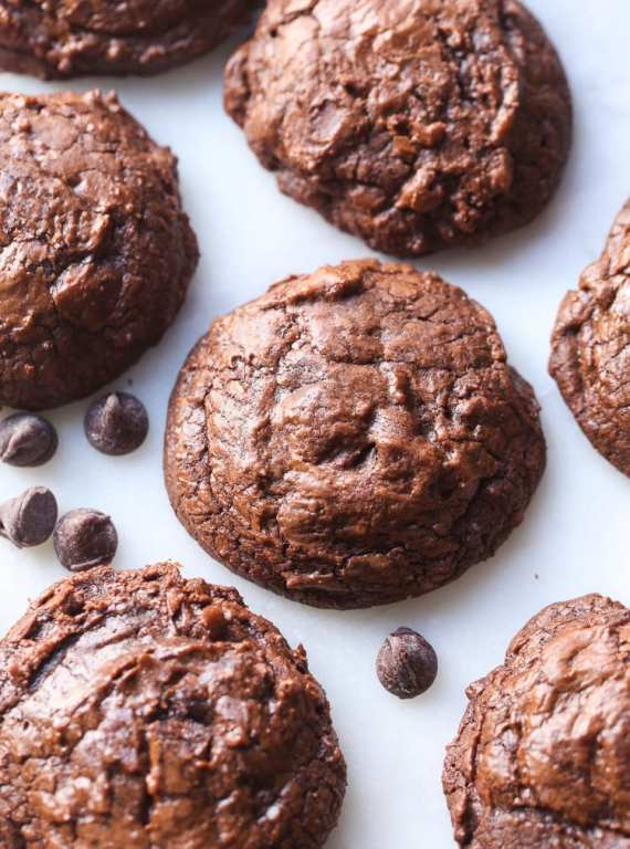Chocolate Truffle Cookies...intensely chocolate, soft and rich! Perfect for you chocolate lovers!