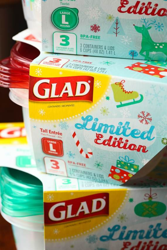 Glad Limited Edition HOliday Containers