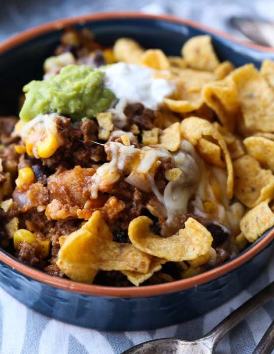 Frito Pie Casserole... such a great family dish!