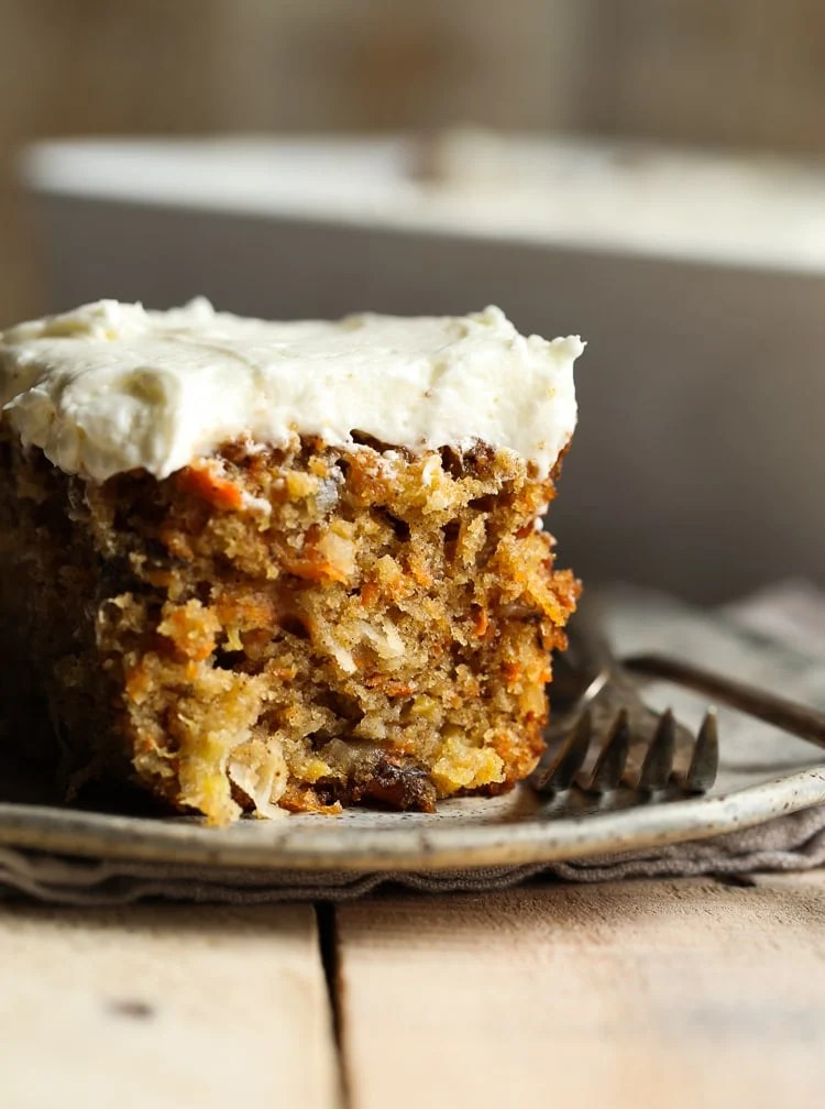 Easy Carrot Cake Recipe With Pineapple