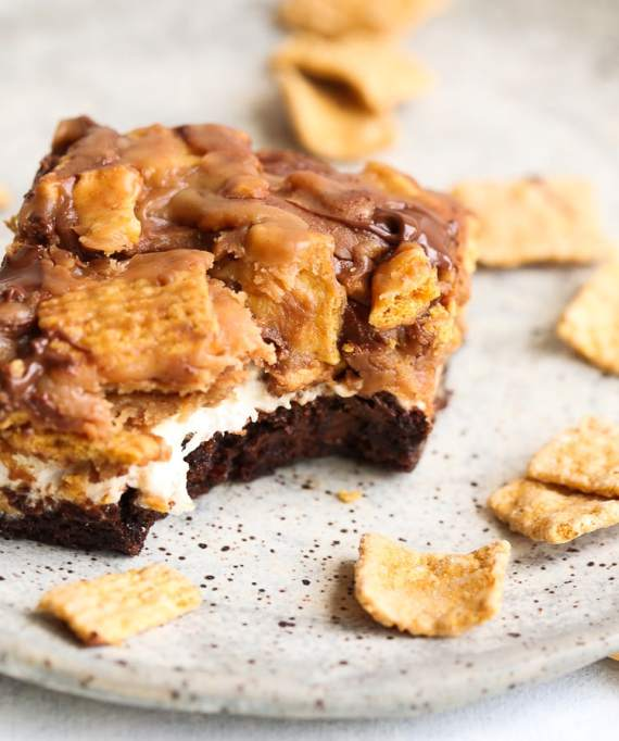 Peanut Butter S'mores Brownies