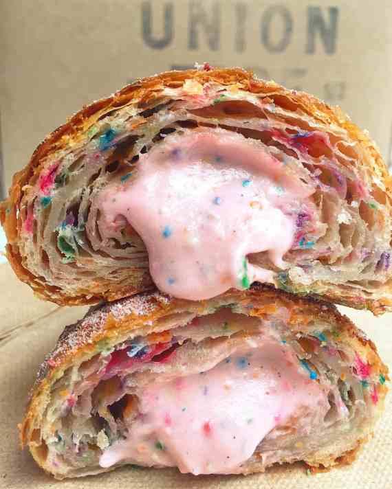 Union Fare NYC Funfetti Croissant