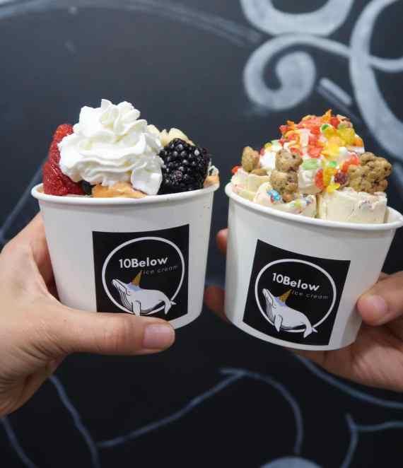 10Below ice cream NYC: MUST DESSERTS