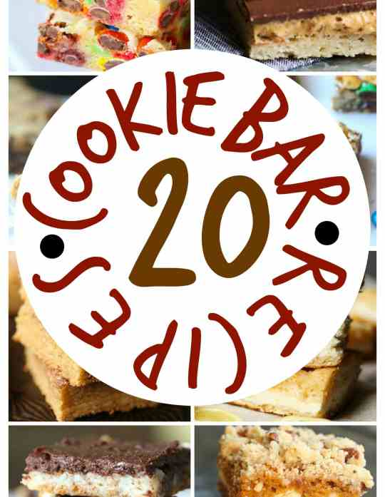 20 Cookie Bar Recipes