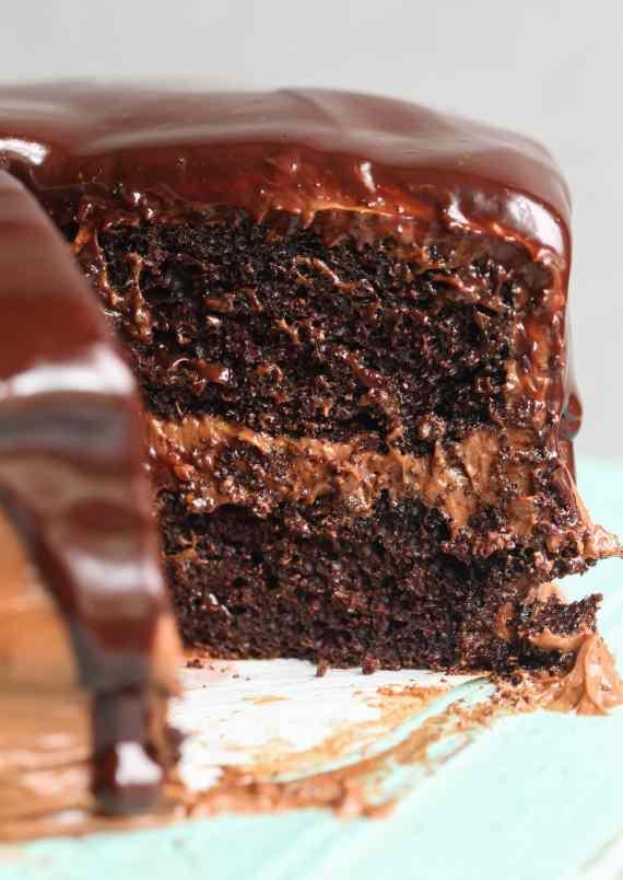 Chocolate Ganache Cake Calories