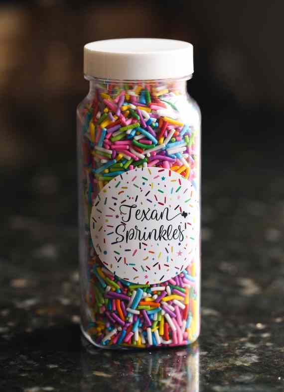 Half Pound Sprinkle Cookies