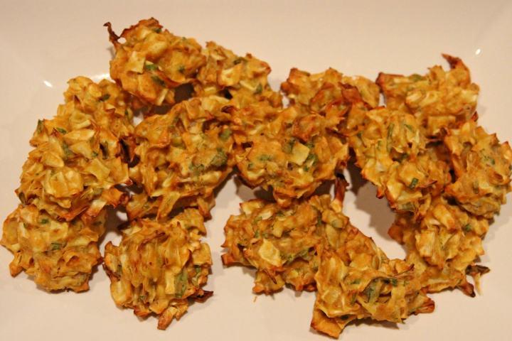 Baked Cabbage Pakora (Fritters)