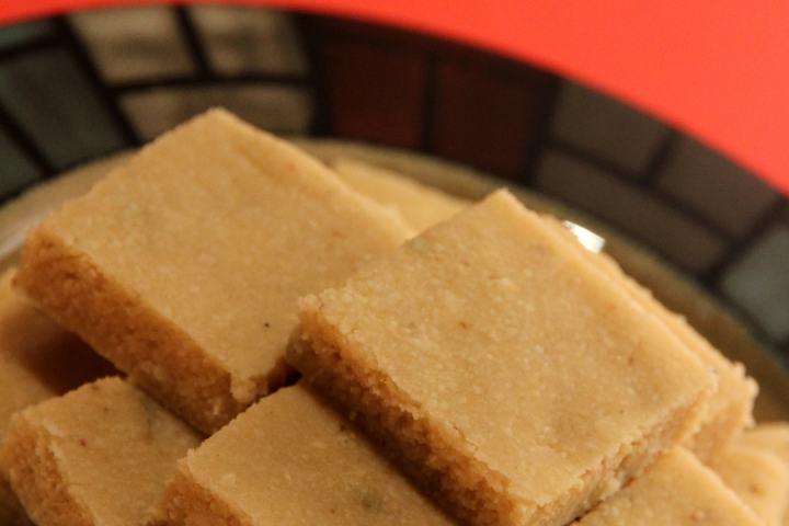 Cashew Almond Fudge | Kaju Badam Burfi