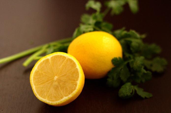 Lemon Cilantro