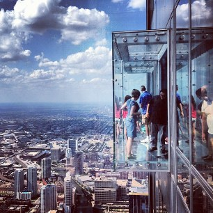 scaling the Willis Tower