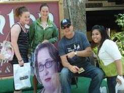 Meghan, Katie, Phyllis, and me with Bob Vance of Vance Refrigeration