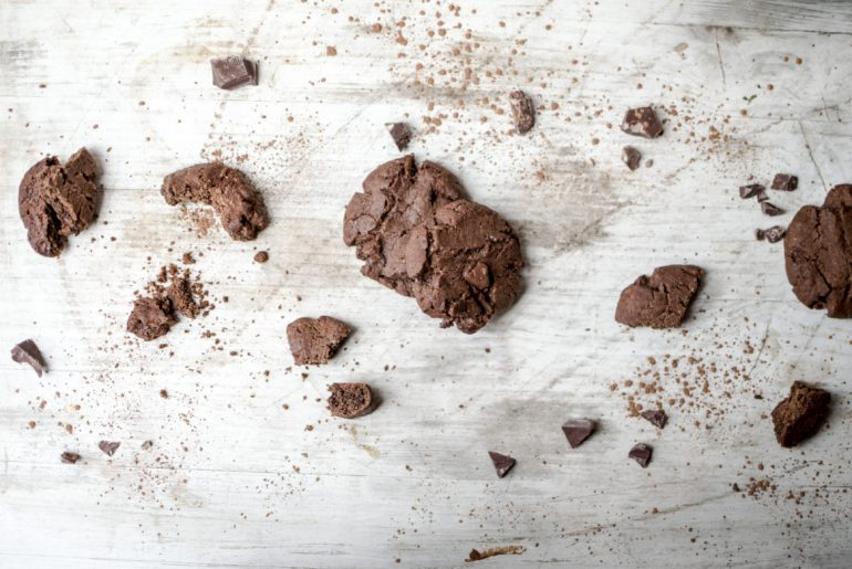 {Food} Soft Baked Double Chocolate Cookies [SF]