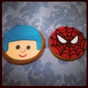 Pocoyo y Spiderman