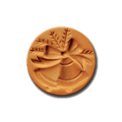 1011 Jingle Bells cookie stamp | cookie stamp.com