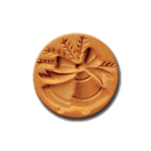 1011 Jingle Bells cookie stamp | cookie stamp.com