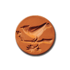 1036 Song Bird Cookie Stamp | CookieStamp.com